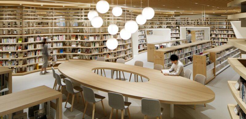 菊池市中央図書館